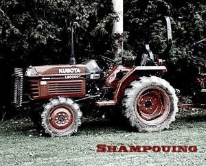 Shampouing Tracteur