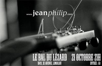 Jeanphilip guitare bal du lézard