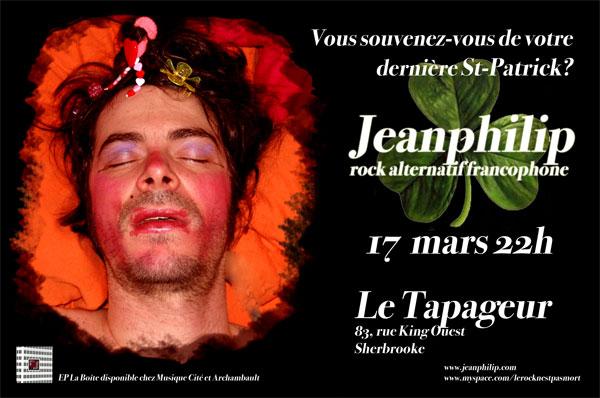 Jeanphilip au Tapageur