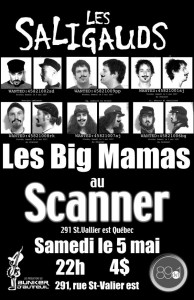 Les Big Mamas Les Saligauds