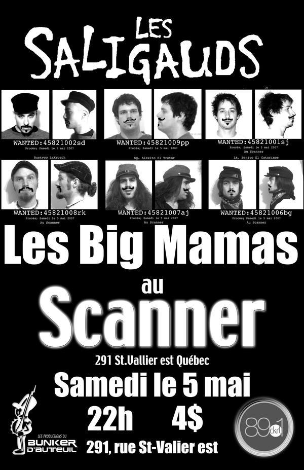Les Big Mamas Les Saligauds