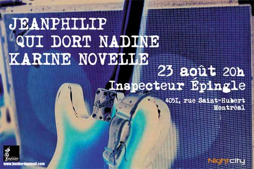 Jeanphilip Qui Dort Nadine Karine Novelle