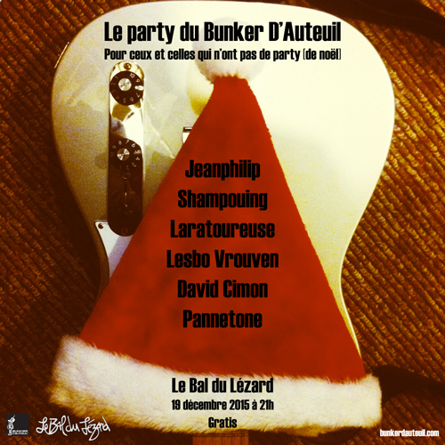 Party du bunker 2015