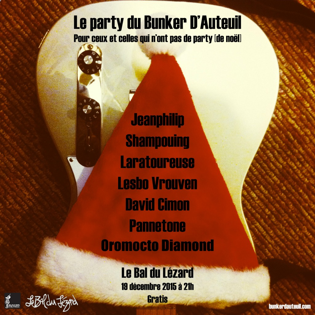 Le party du Bunker D'Auteuil 2015